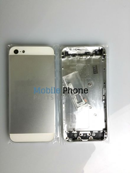Apple iPhone 5 Back Housing With External Button Set - White